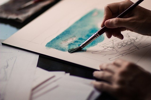 An image of painting art